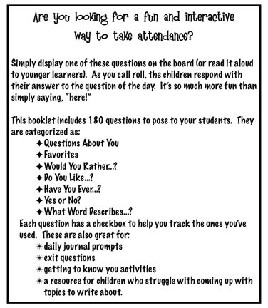 Taking Attendance Classroom Management Series  ClutterFree Classroom
