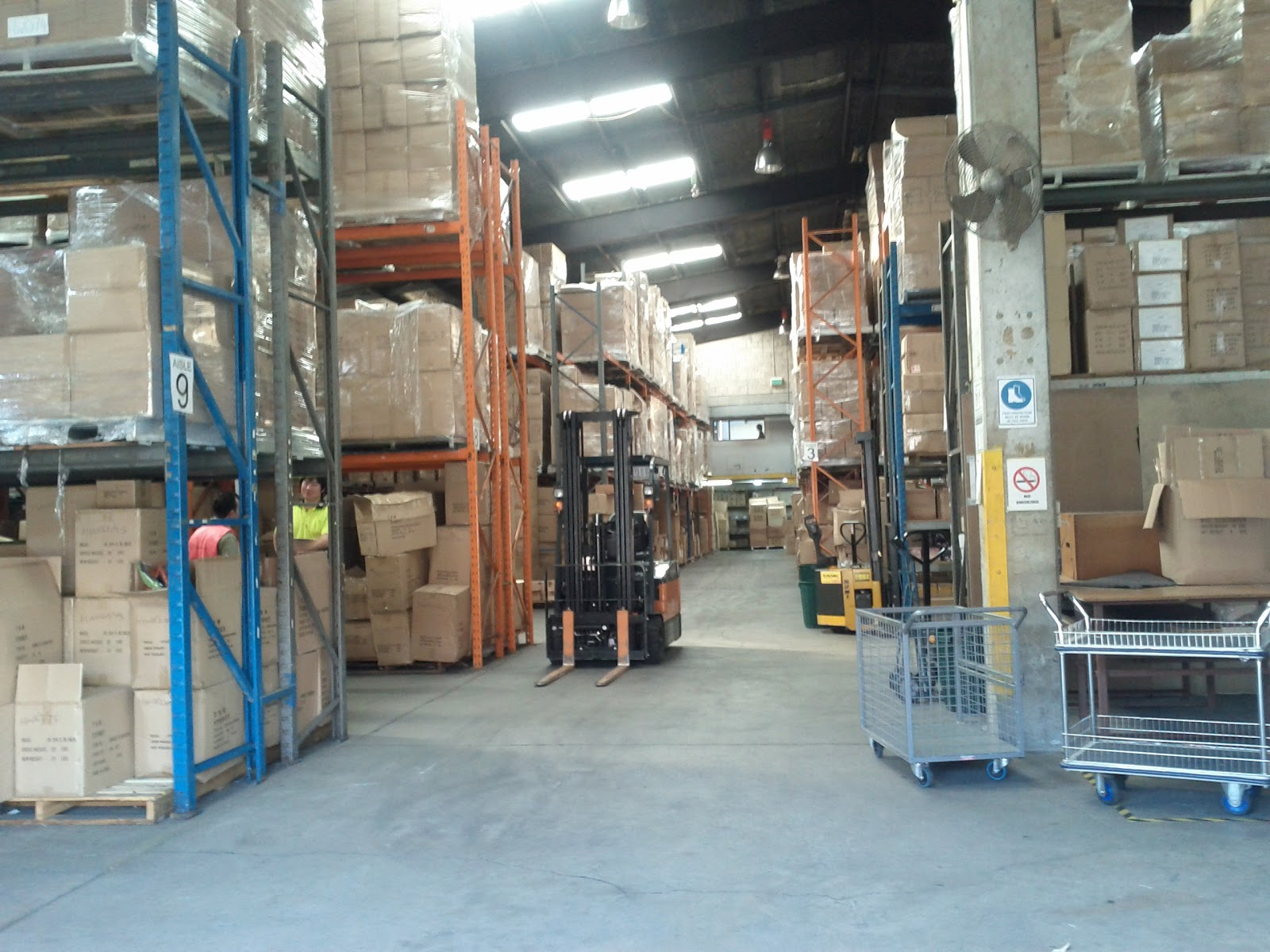 Cover letter warehouse work