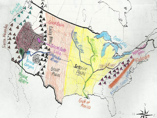 Ms Loftin 7th Grade Dartmouth Geography U S Political North American