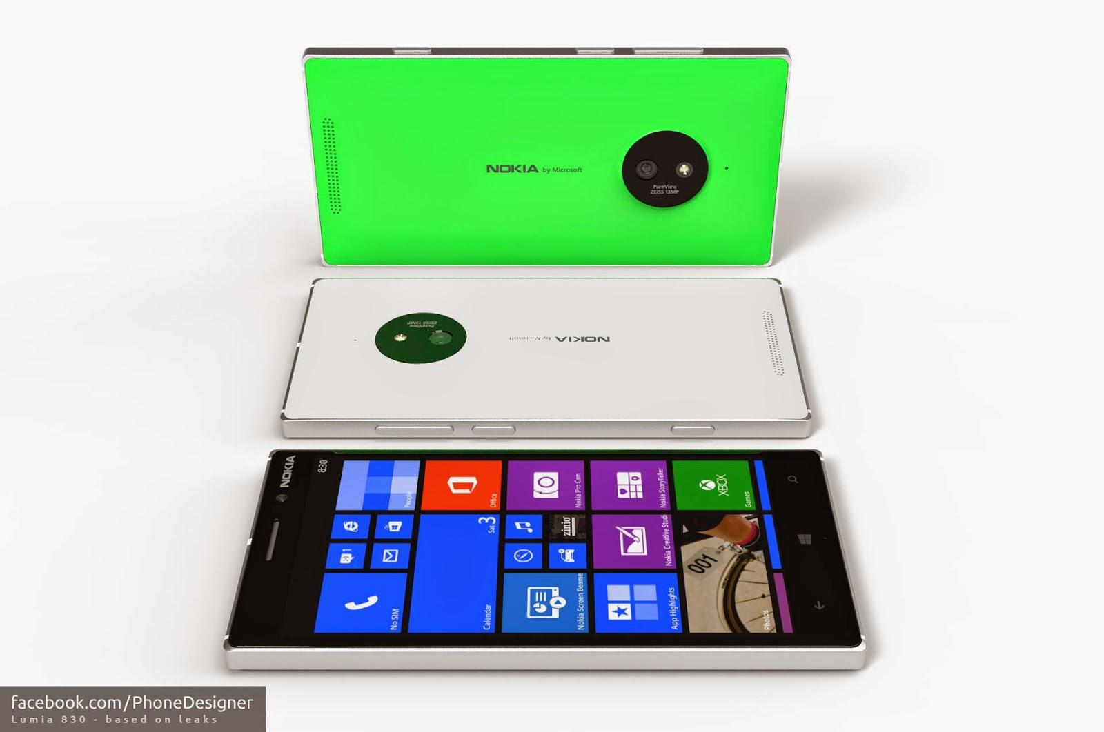 Harga Dan Spesifikasi Nokia Lumia 830