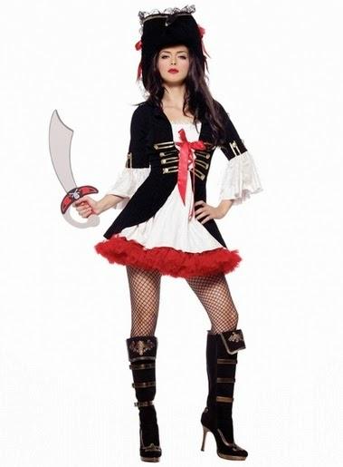Un disfraz de pirata muy sexy