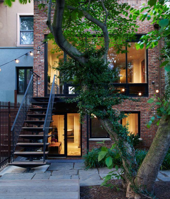 Interior Design   Brooklyn Row House   Dust Jacket   Bloglovin\u0027