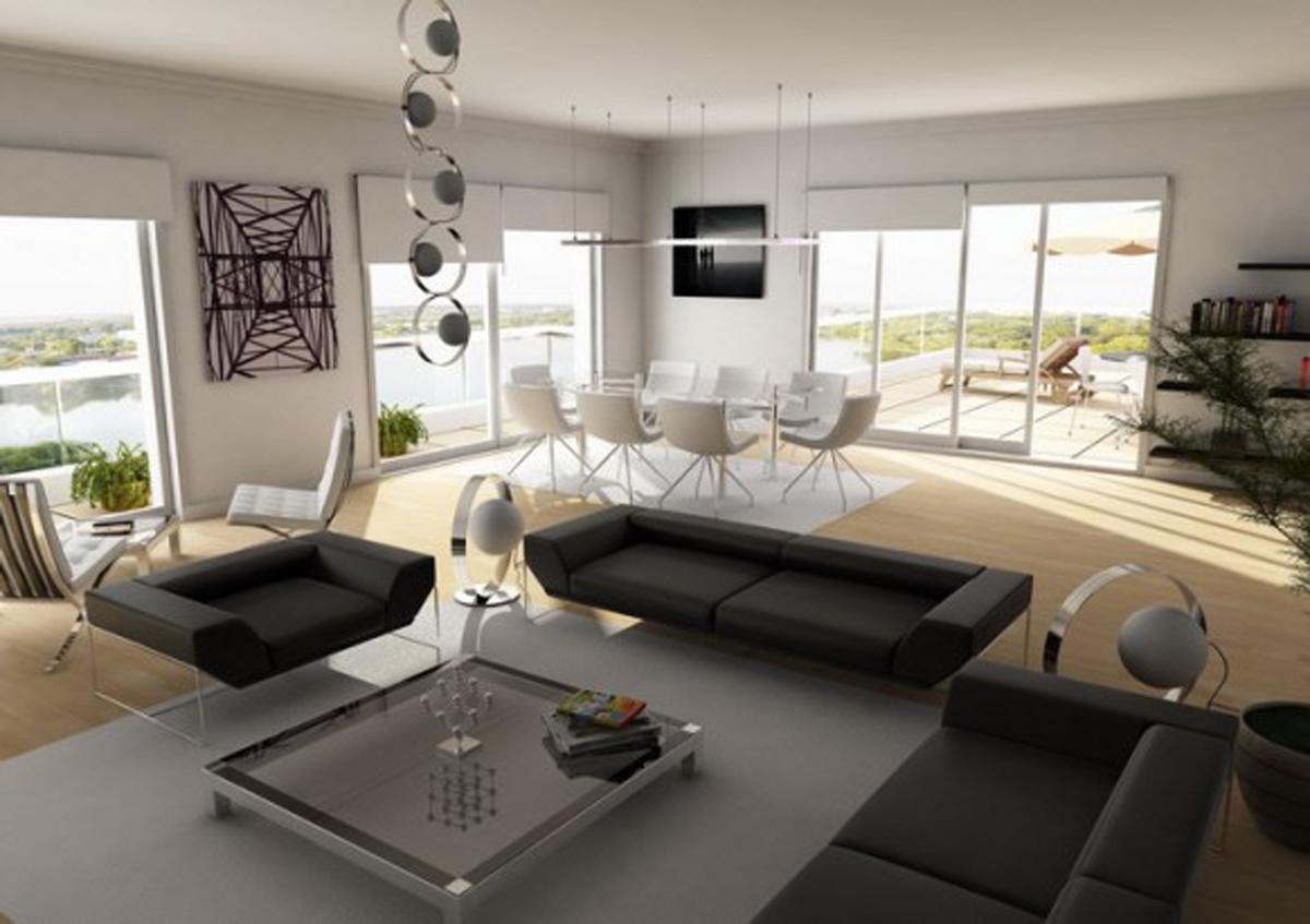 Perífrasis del Alma: Salas de estar minimalistas