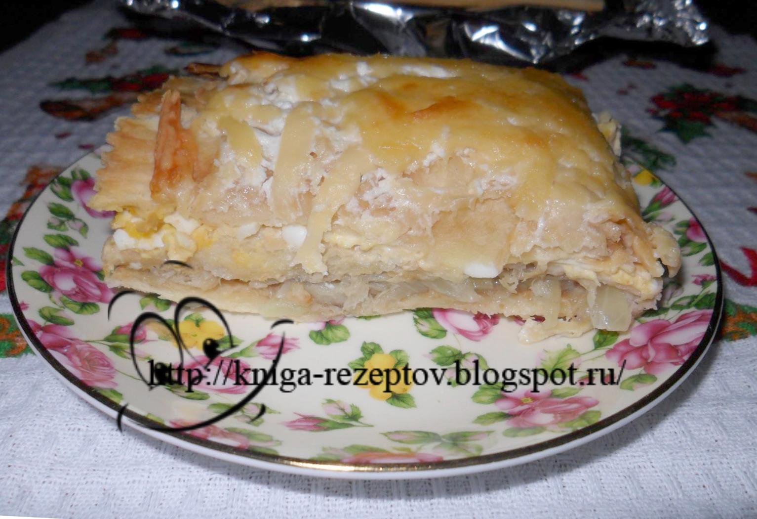 Рецепт торта с рыбной консервой