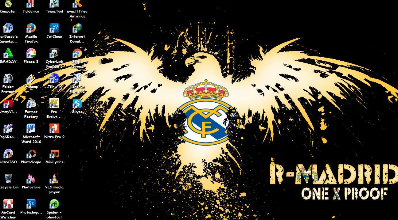 Download Tema Real Madrid Terbaru 2016 For PC - RIALSOFT