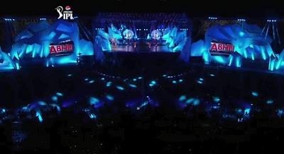 IPL 2013 opening ceremony Live Program