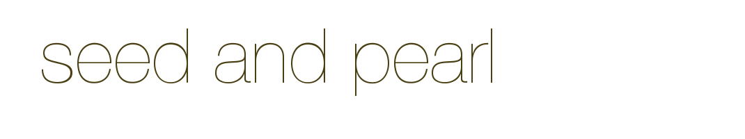 seed and pearl