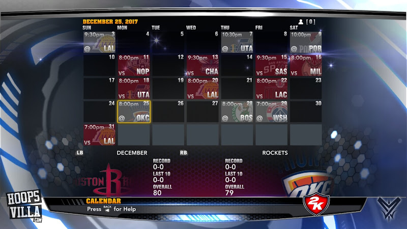 NBA 2k14 Roster update - August 21, 2017 - 2017-18 NBA Schedule - HoopsVilla
