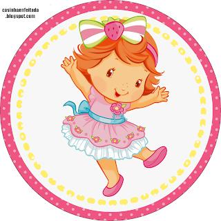 Kit Festa Moranguinho Baby Para Imprimir Grátis