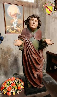 RAMBERVILLERS (88) - L'église Sainte Libaire - Mise au tombeau : Saint-Jean