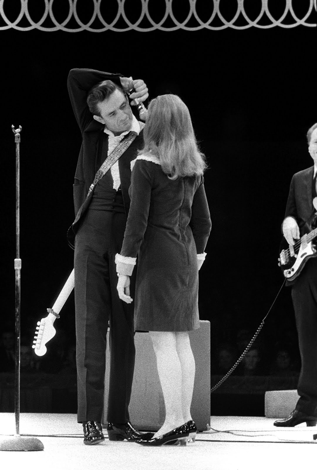 Talk about the passion originator of rock journalism for Pictures of johnny cash and june carter