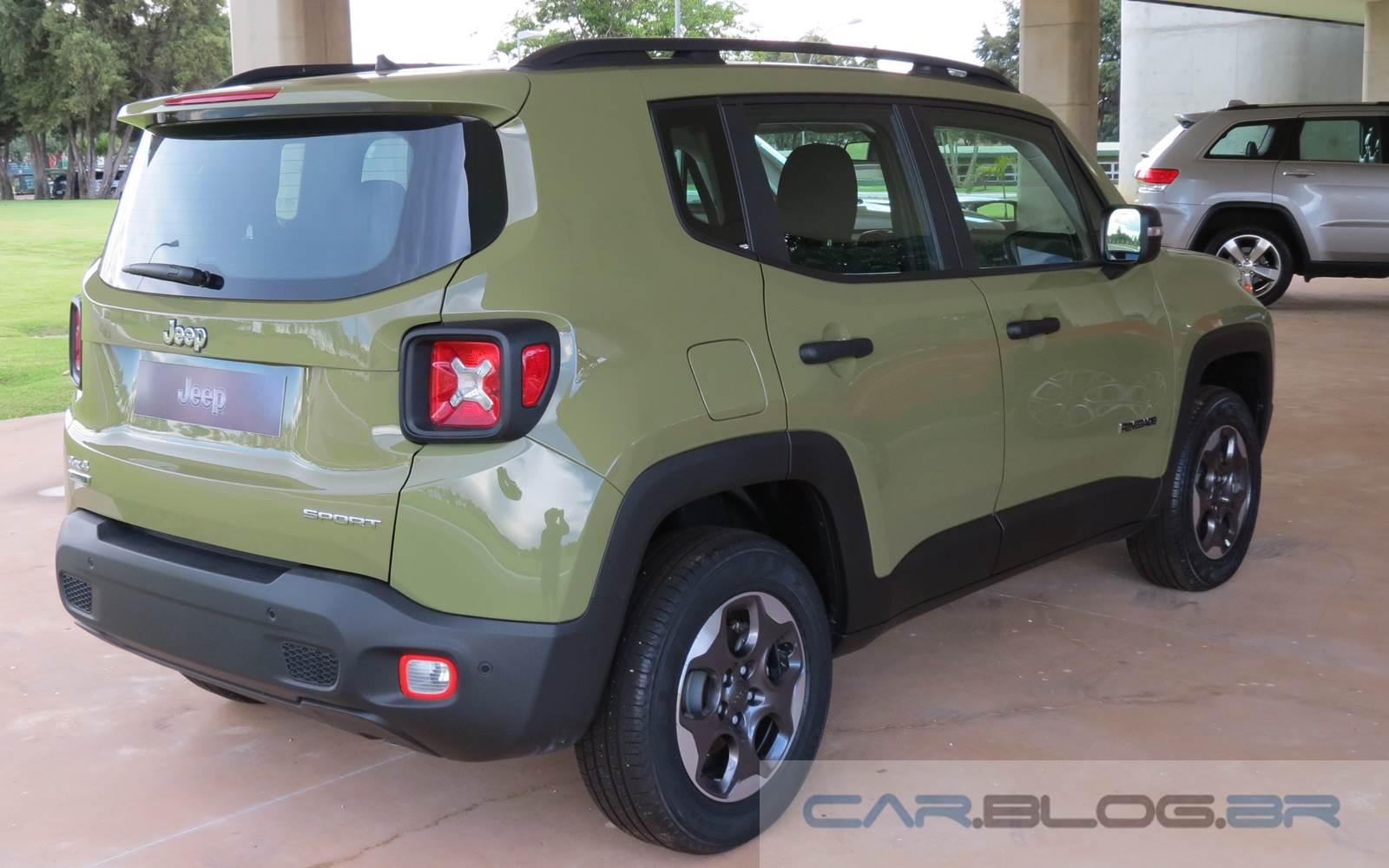 Jeep Renegade Sport - versão de acesso