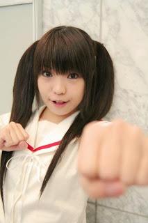 Tsukimiya Usagi cosplay as Kana from Minami-Ke