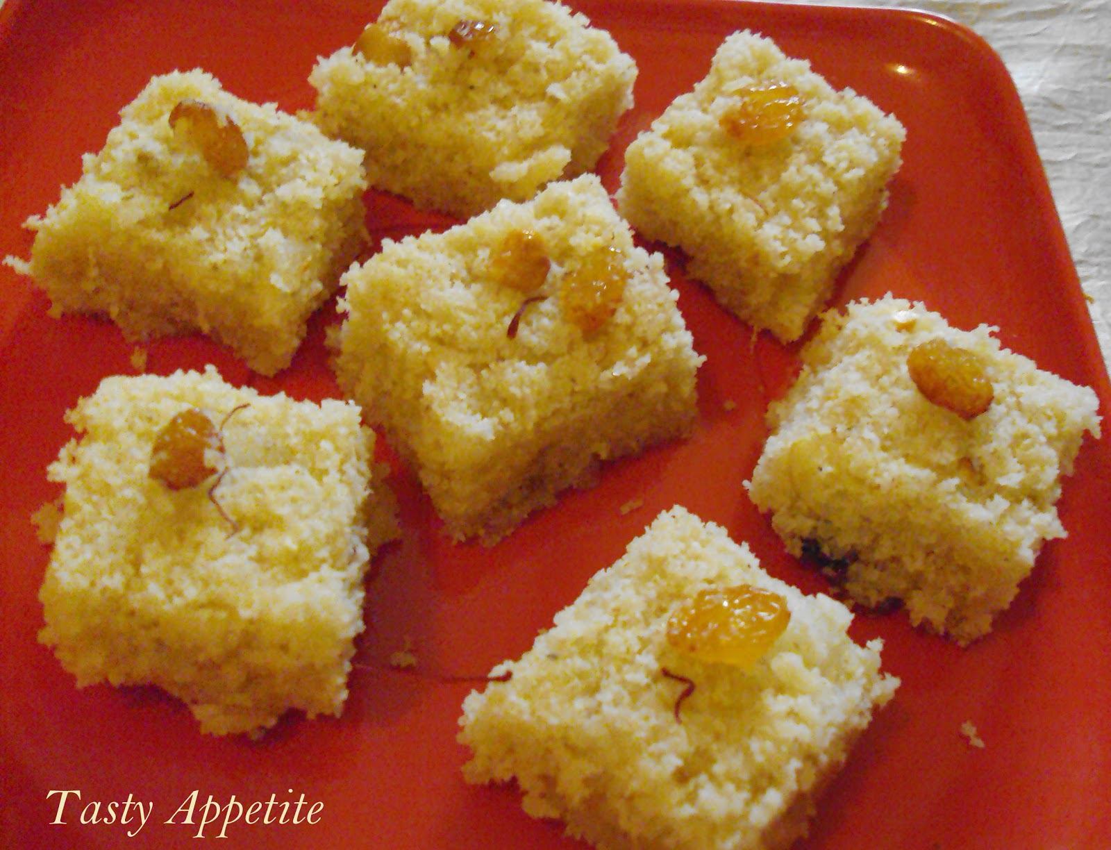 Coconut Barfi / Nariyal Ki Barfi / Coconut Fudge