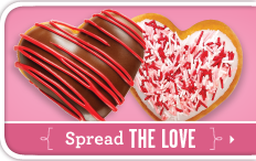 Heart Shaped Doughnuts and Free ECards from Krispy Kreme - Go Grow Go!