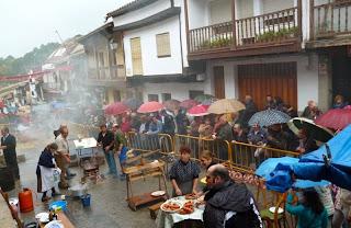 Fiesta de la Caída de la Hoja. Valle del Jerte