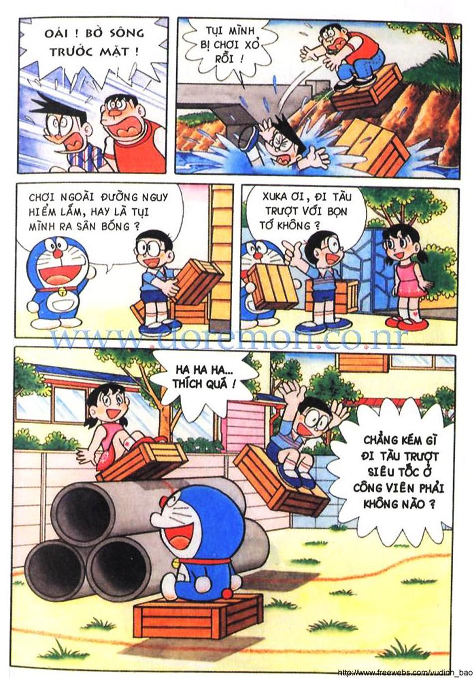 TruyenHay.Com - Ảnh 6 - Doraemon Color Doraemon 029 -END-