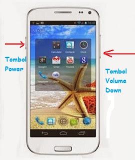 Cara Cepat Screenshot HP Advan S4A Dengan Dua Tombol