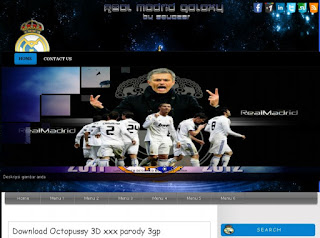 Download template real madrid blog gratis 2013