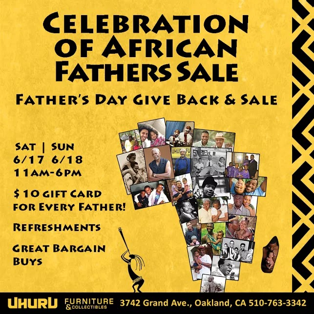 Thank You to All The Fathers Who Came Out For Our Celebration of African Fathers Sale!
