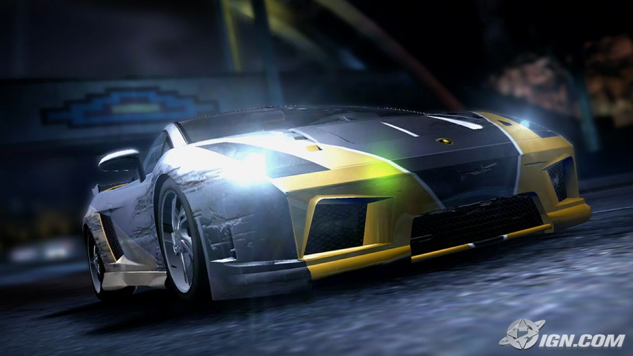 GLOBAL GAMES: Need for Speed - Carbon