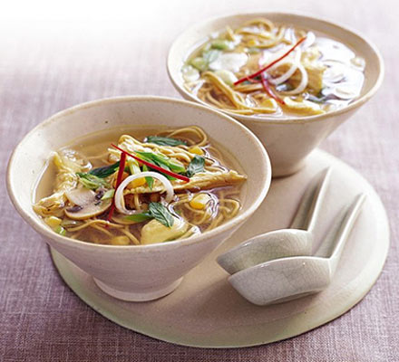 Chicken noodle soup recipe - How to make chicken noodle soup