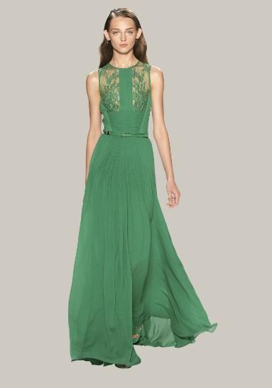 Grüne Kleider von Elie Saab Sammlungen