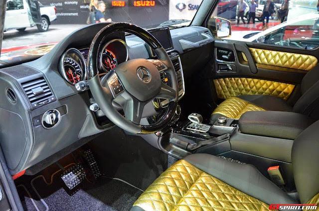 mercedes g63 hamann spyridon interior