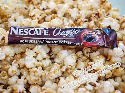 happy call nescafe coffee popcorn recipes
