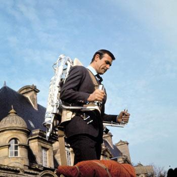 Top Ten 007 James Bond Gadgets The Jet Pack!