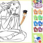 Colorear a Pocahontas