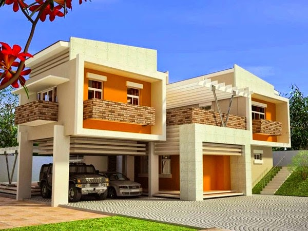 Desain Atap Datar Rumah Minimalis