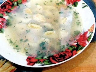 Ресторан дома - Рецепты - Первое блюдо - Суп с клецками