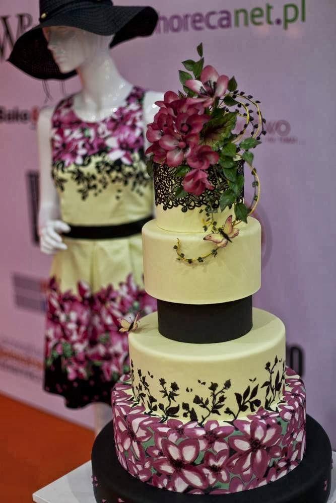 III Miejsce na Międzynarodowym Konkursie tortów podczas Expo Sweet 2014 w Warszawie