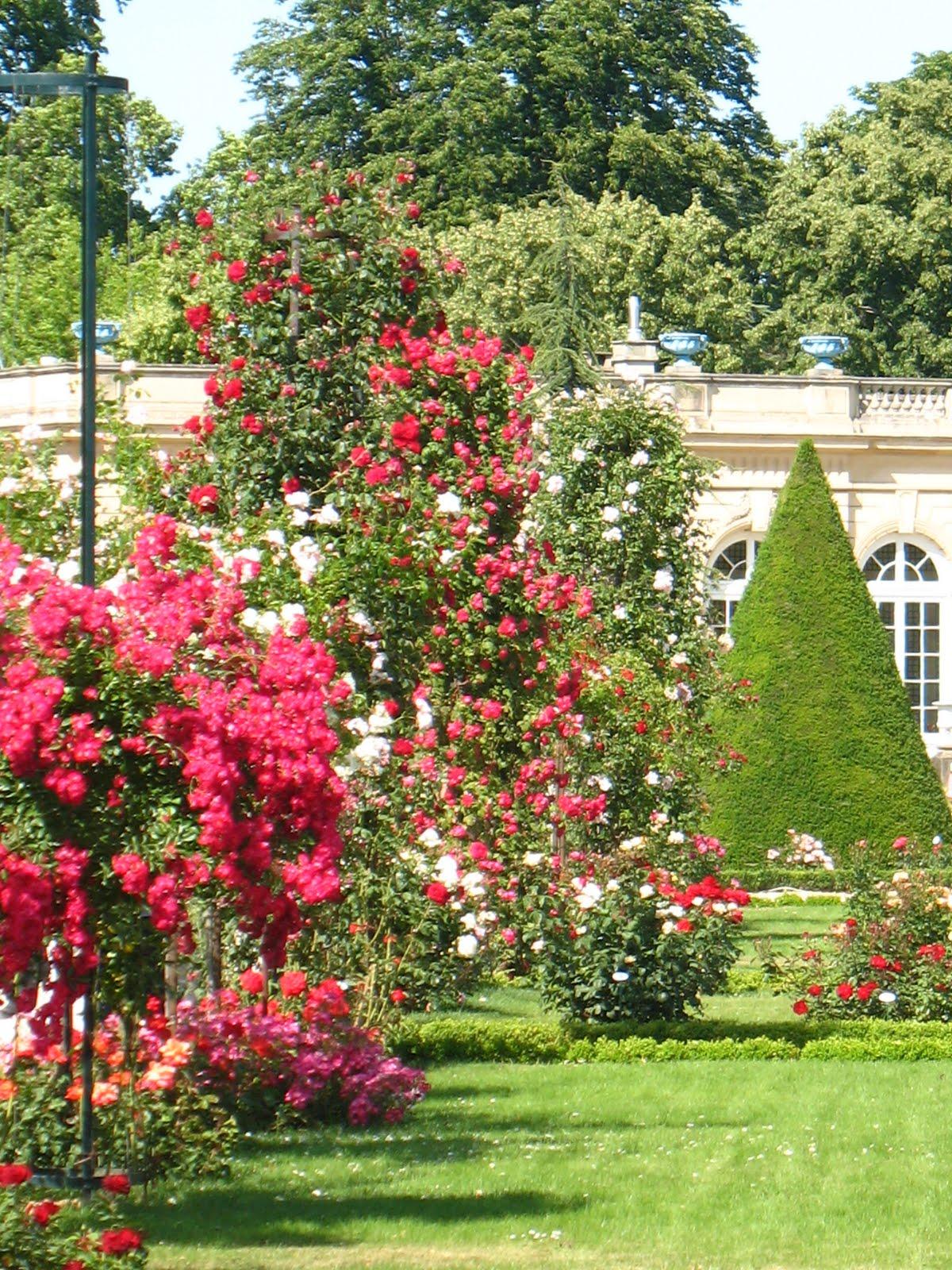 Impressions sur l 39 art l 39 art des jardins le parc de for Jardin bagatelle