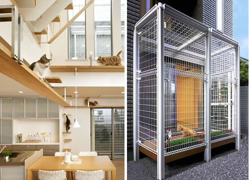 Indoor Cat House Design Plans