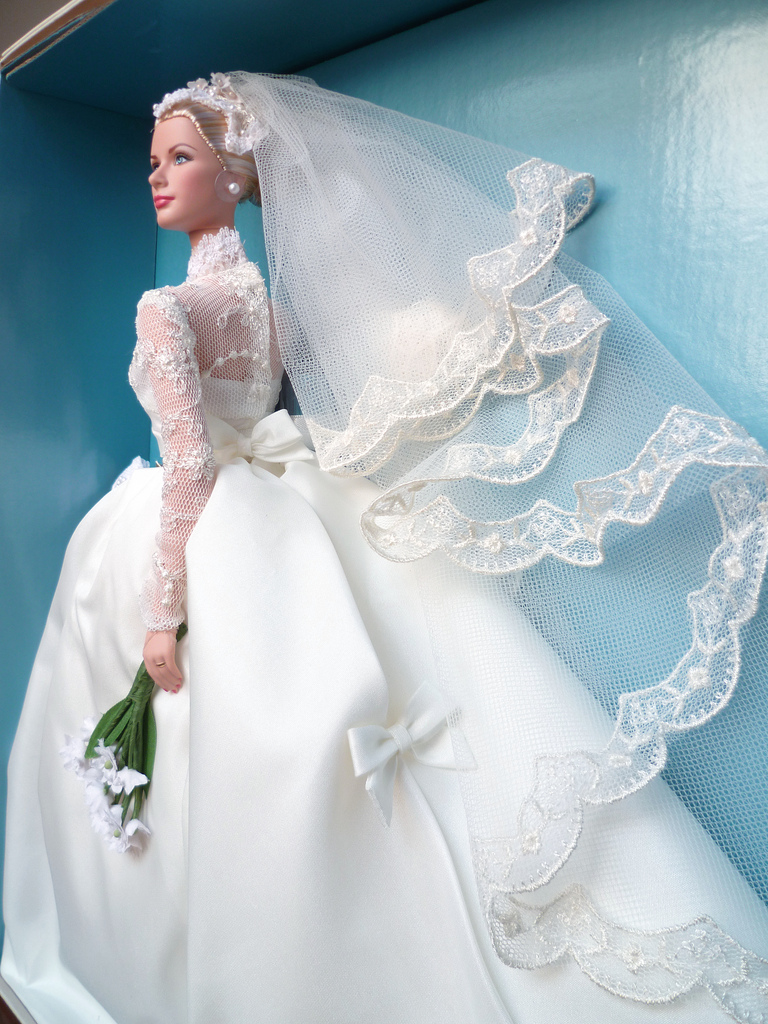 Barbie Collector Passion: Grace Kelly The Bride