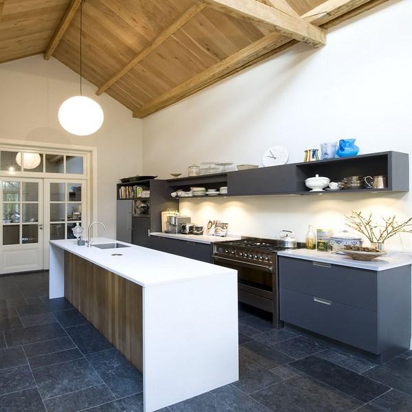 Ikea Keuken Groen : ikea keuken groen keuken met roestvrijstalen ikea elementen wand met