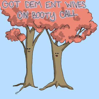 Got Dem Ent Wives On Booty Call Lord Of the Rings parody rap