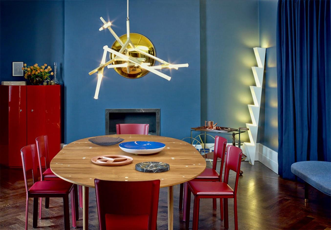Einrichten in Nachtblau - Wallpaper setzt neuen Wohntrend in London