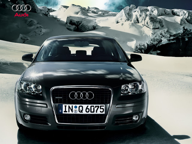 Front picture of new Audi A3