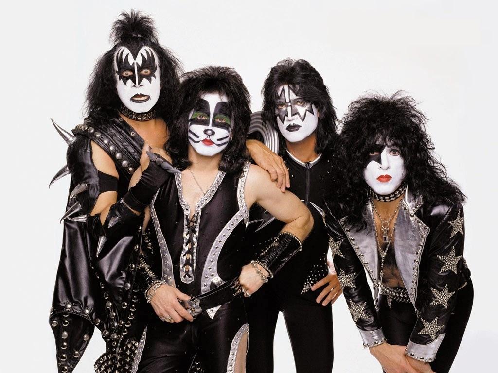 Formación de Kiss en los 70
