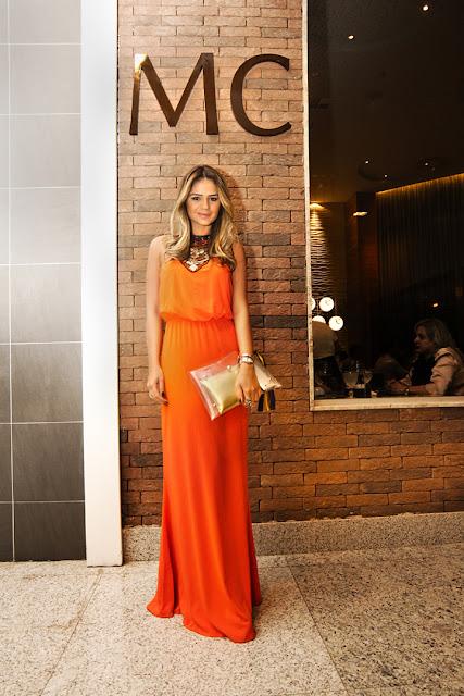 look reveillon laranja