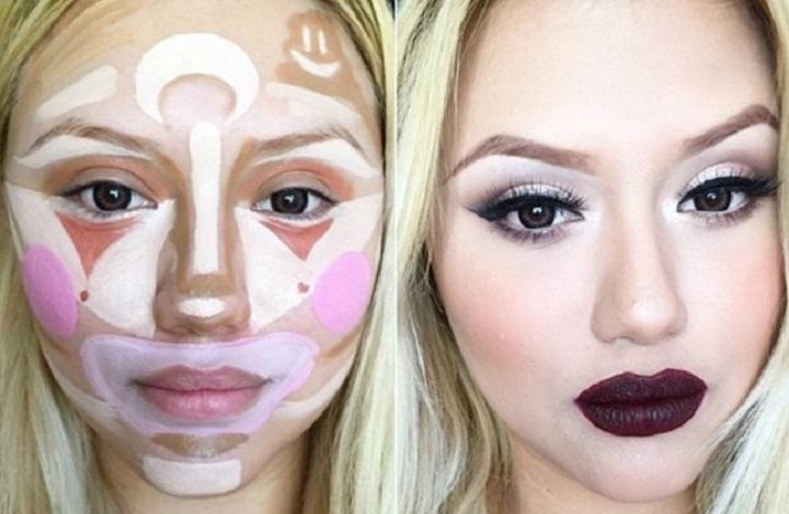 Como fazer contorno de maquiagem