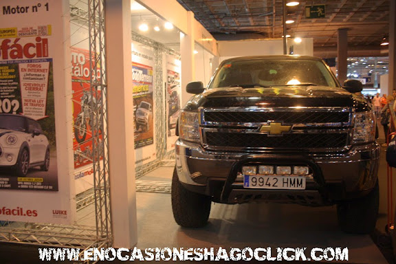Chevrolet pick up salon del automovil de madrid 2014
