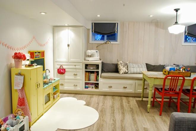 Rambling Renovators | play zone basement