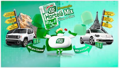 Promoção Tic Tac Hortelã Mix