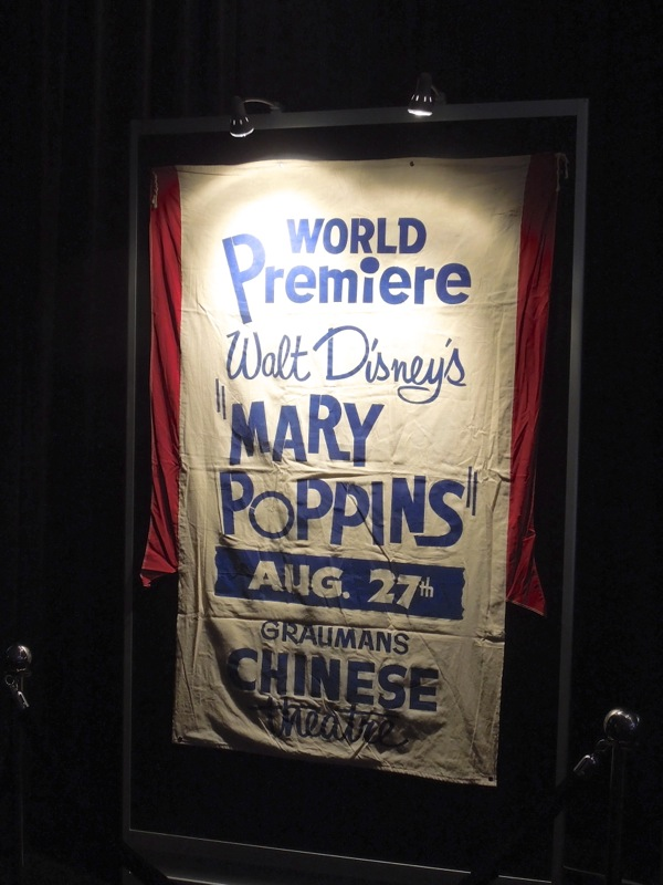 Mary Poppins World Premiere Graumans Chinese Theatre poster