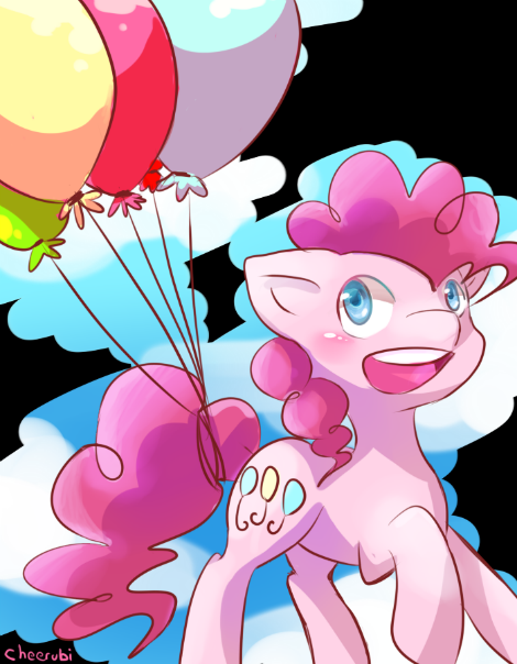 Pinkie Pie is here to cheer you up, Brighten up the day