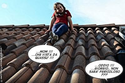 Rebecca sul tetto di casa 2013 rebeccatrex